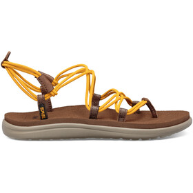 Teva Voya Infinity Teenslippers Dames, sunflower/bison